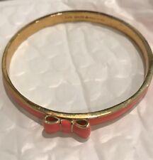 Kate Spade New York 'Take A Bow'  Enamel Bangle Bracelet, very good