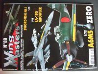 *** Revue Wing Masters n°89 Roland D.VI  guerre des Malouines  A6M5 Zero Type 52
