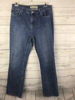 Cabela's Casuals Women's Straight Leg Blue Jeans SZ 16