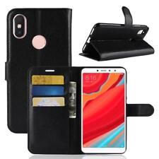 Funda para el Xiaomi Redmi S2 Libro Cover Wallet Case-s bolsa Negro