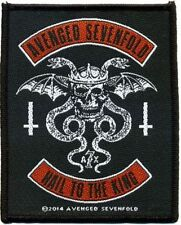 """Avenged Sevenfold """" HAIL TO THE KING """" Patch / PATCHES 602533 #"""