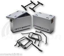 Tusk Pannier Box w/ Racks and Handles KAWASAKI KLR650 1987-2007 Dual Sport  MED