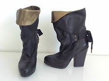 "BOTTINES ""VANESSA BRUNO"" P40 - COMME NEUVES, PORTEES 1 SEMAINE"