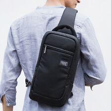 Mens Korea Style Messenger Cross body Bag Waterproof Nylon Shoulder Sling pack