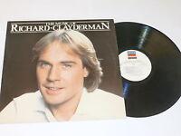 RICHARD CLAYDERMAN - The Music Of - 1983 UK 17-track vinyl LP