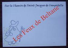 Carte postale Sur le chemin de St Jacques de Compostelle,Marc Ledogar CPSM