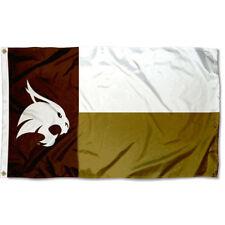 Texas State University Bobcats METAL Auto Emblem state shaped