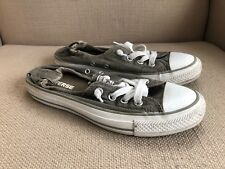 Converse All Star Shoreline Gray Canvas Sneakers size 7
