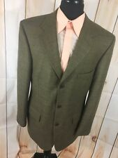 Vintage HARDY AMIES Savile Row 100% Wool Jacket Blazer Sport Coat Men's 42