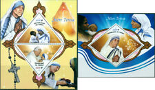 Mother Teresa Pope John Paul II Religion Vatican MNH stamps set