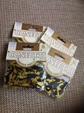 Cheers Confetti with champagne bottle and glasses x 4 bags