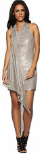 Limited Edition Karen Millen Neutral Sequin Dress Sz 6 8 10 14 Evening Cocktail 14
