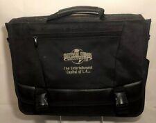 Universal Studios Vintage Canvas Briefcase Portfolio Laptop bag Hollywood Leeds