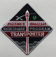 "Original SpaceX Transporter Rideshare Program Falcon 9 Smallsat Mission patch 3"""