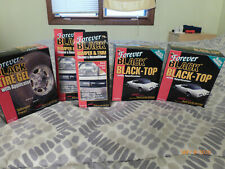 Forever Black Car Care Package: Black Top, Bumper And Trim, Tire Gel Never Used