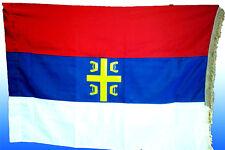 Serbia - Chetnik - 150 x 100 cm - Serbian tricolor flag - Both sided