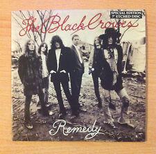"THE BLACK CROWES  "" Remedy "" - Vinyl single 7"" Sided, Etched  -DEFA 16 - 1992 EU"