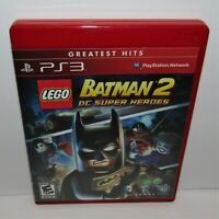 LEGO Batman 2: DC Super Heroes (Sony PlayStation 3, 2012) Greatest Hits Complete