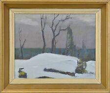 Originalgemälde (1900-1949) mit Expressionismus für Öl auf Landschaft & Stadt