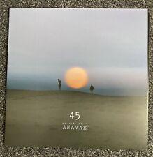 Anavae - 45 - Orange / White Vinyl LP Signed Edition Brand New