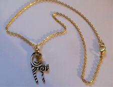 Girls, Ladies Cat Necklace, Enamel Glazed Cat Necklace, Cat Lover's Necklace