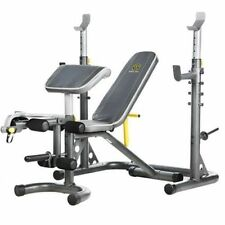 Gold's Gym XRS 20 Olympic Weight Bench Home Gym Exercise Adjustable Incline