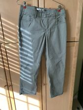 Christopher Blue Mid-rise Skinny Roll Crop Pants Size 10