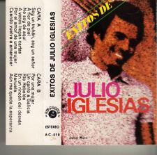 """K 7 AUDIO (TAPE)  JULIO IGLESIAS  """"EXISTOS DE JULIO IGLESIAS"""" (MADE IN SPAIN)"""