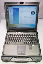"GETAC B300 13.3"" FULLY RUGGED NOTEBOOK, C2D-L7500,2GB,160GB,FPR,DVDRW,VIS, NICE"