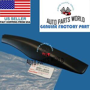 GENUINE LEXUS RX330 RX350 RX400h FRONT PASSENGER ROOF RACK COVER 63491-0E010