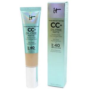 It Cosmetics CC+ Oil-Free Matte 1.08oz Fair / Light-Medium / Medium Foundation