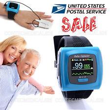 USA FDA Watch Pulse Oximeter USB Wrist SPO2 Pulse 24Hours Overnight Sleep Study
