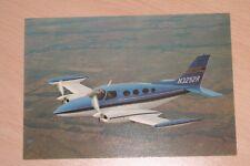 Cessna 411A N3252R postcard