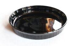 Corning Ware F-3-B 24 cm Pie  Quiche Dish Plate   Black