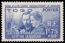 Togo (French) Scott B1 (1938) Mint LH VF, CV $20.00