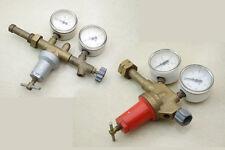 2x DDR Riduttore pressione Gas Ossigeno, Acetilene