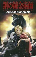 JAPAN Fullmetal Alchemist Brotherhood Official Guide Book