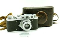 RARE FED-1 NKVD Soviet Rangefinder Film Camera copy Leica ws lens FED Serviced