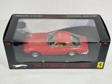HOT WHEELS ELITE 1 18 FERRARI GT 250 BERLINETTA LUSSO MIB SIGILLATA NO KYOSHO