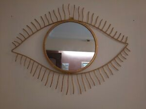 Handmade Eye Glitter Makeup Fancy Unique Christmas Gift Home Wall Deco Mirror