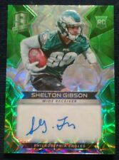 2017 Panini Spectra SHELTON GIBSON #09/50! Autograph Green Scope Rookie SSP