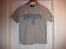 Allen Iverson DENVER NUGGETS #3 Adidas t-shirt Youth size Medium (10-12)