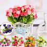 Heads Kunst Pfingstrose Blumen Kunstblumen Künstliche Pflanzen-Blumenstrauß```