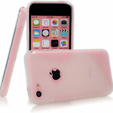 iPhone 5C 5 5S SE 6 6S 7 Plus TPU Rubber Soft Silicone Skin Back Cover Case