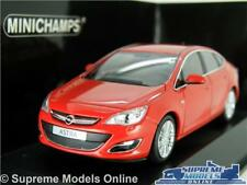 OPEL VAUXHALL ASTRA MODEL CAR 1:43 SCALE RED MINICHAMPS 410 042001 MK6 2012 K8