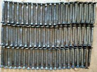"""Vintage Railroad Spikes High Carbon  Excellent 6 1/2"""", Straight.lot 120"""
