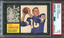 1962 Topps #90 Fran Tarkenton RC PSA 3 Minnesota Vikings HOF