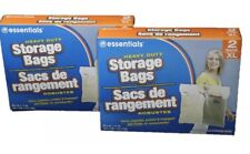 Extra Large Heavy Duty Storage Bags with Zip-lock , Size Extra Large, 2 Count...