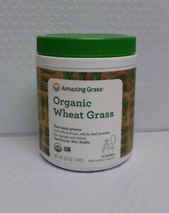 Amazing Grass Organic Wheat Grass Powder - 30 Servings Exp-02/2022, #1001