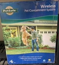 PetSafe Pif-300 Wireless Fence Pet Containment System *see Description*